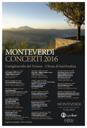 Concerti a Castiglioncello del Trinoro