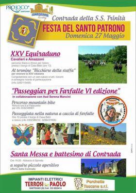 Festa del Santo Patrono Contrada della S.S. Trinità