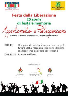 Festa della Liberazione a Pietraporciana