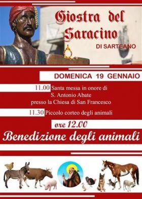 La Giostra del Saracino celebra Sant'Antonio Abate protettore degli animali