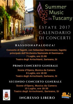 Summer Music in Tuscany