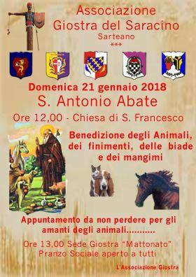 La Benedizione degli Animali a Sarteano
