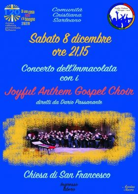 Concerto dell'Immacolata con i Joyful Anthem Gospel Choir